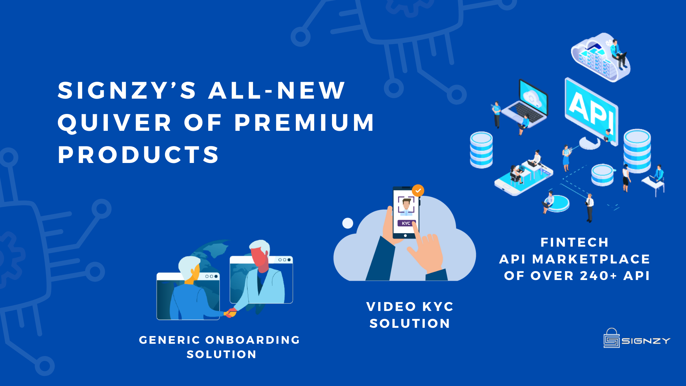 Signzy's All New Quiver Of Premium Products
