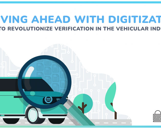 Digitization of verification process in vehicle underwriting