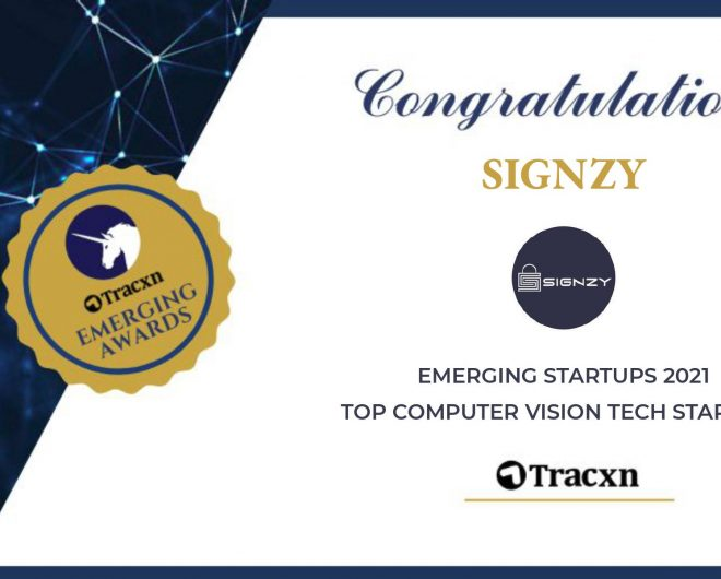 Tracxn's Emerging Startups Of Computer Vision includes Signzy