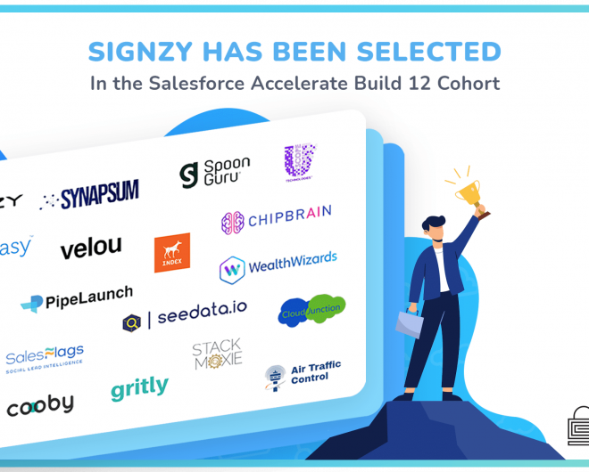 Salesforce Accelerate Build incorporate Signzy in it's 12 Cohort
